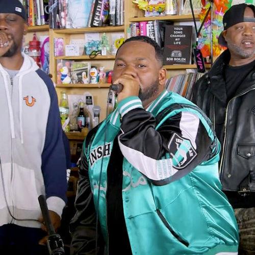 Wu-Tang Clan выступили под живую музыку в рамках Tiny Desk