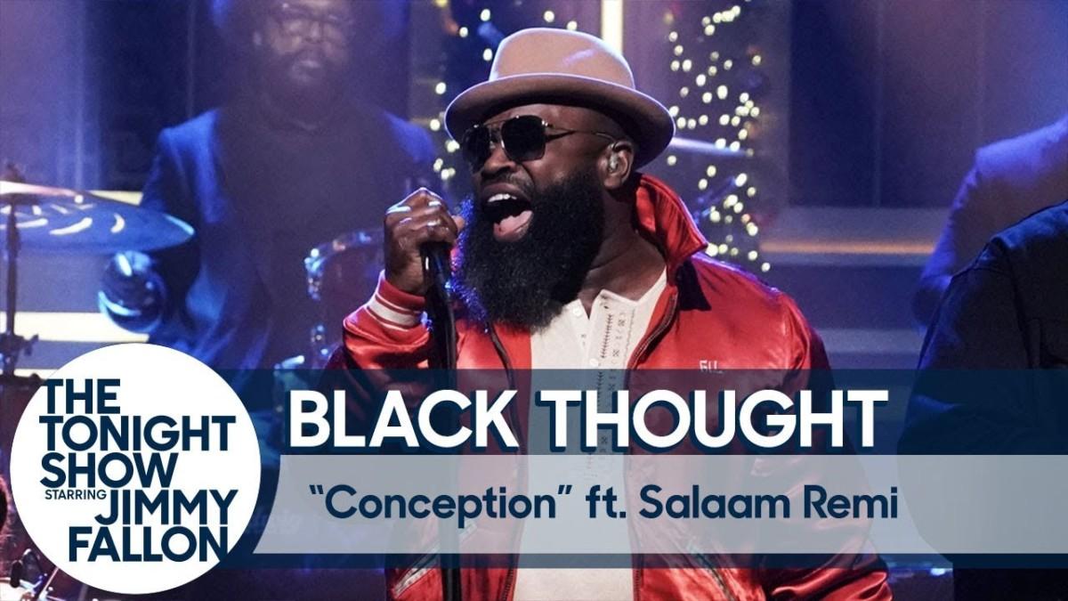 Black Thought и Salaam Remi выступили на шоу Джимми Фэллона