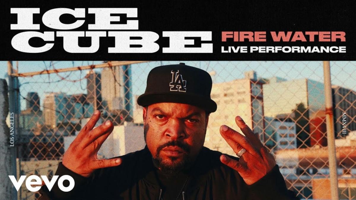 Ice Cube — «Fire Water» (Spoken Word)