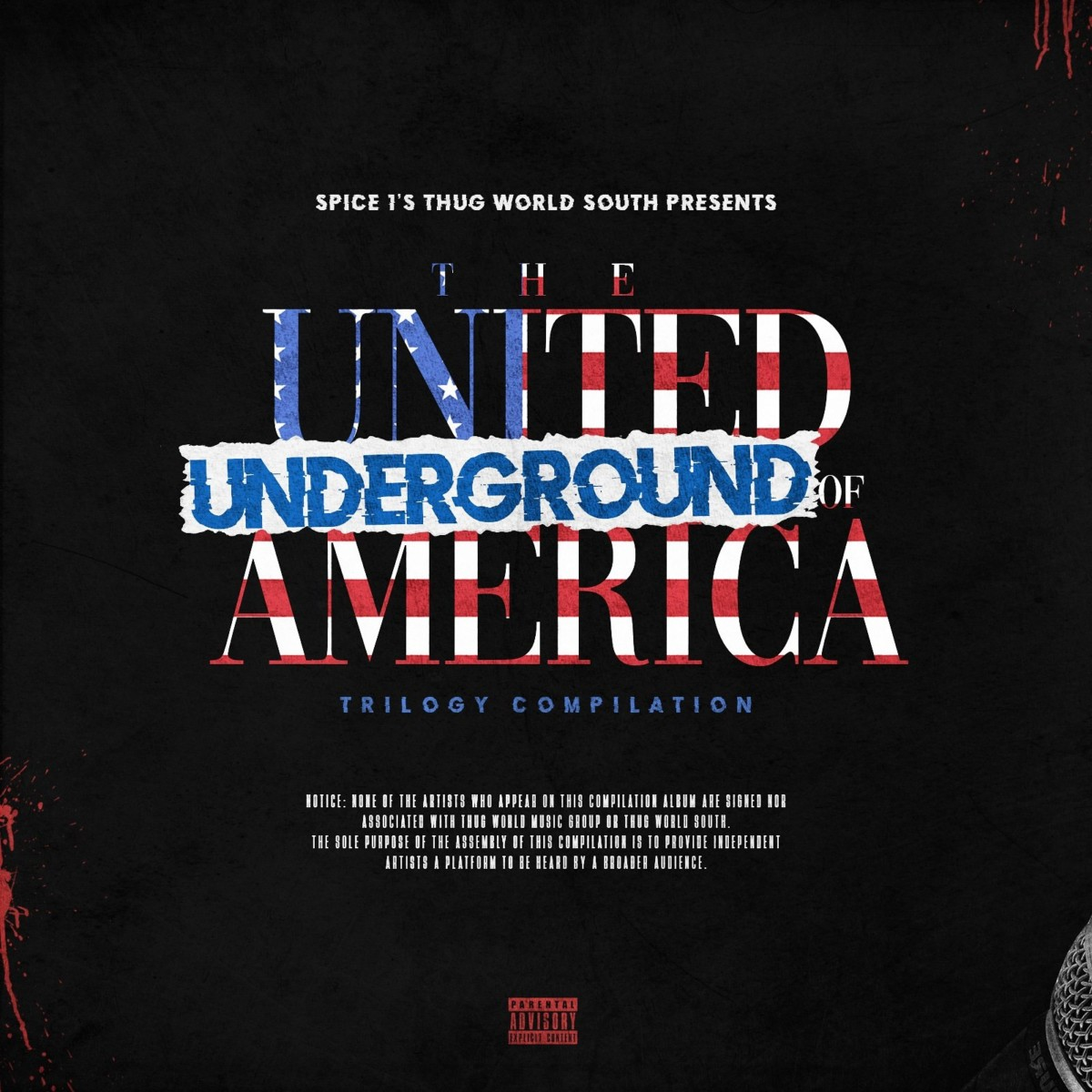 «The United Underground Of America: Trilogy Compilation»