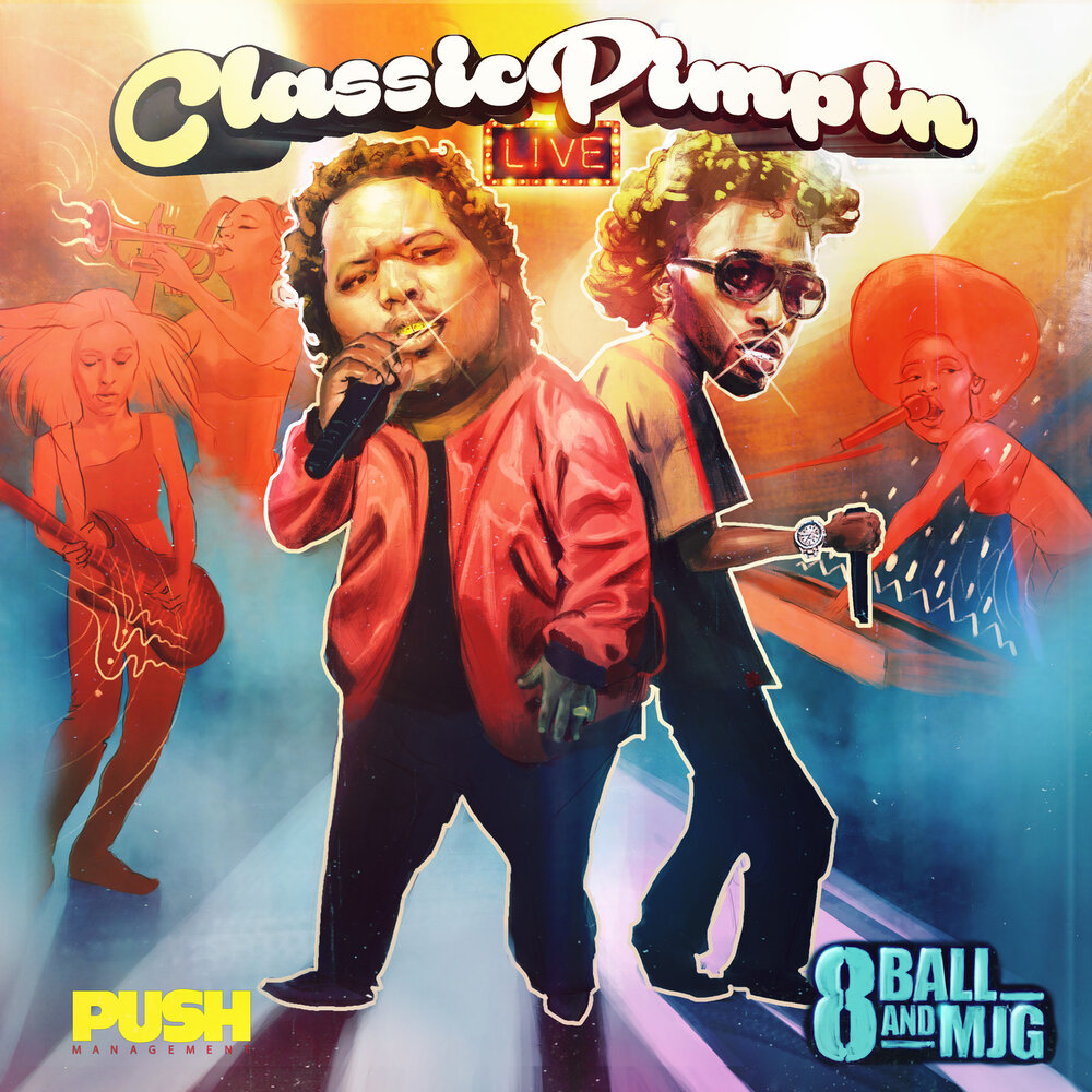8Ball & MJG — «Classic Pimpin: Live»