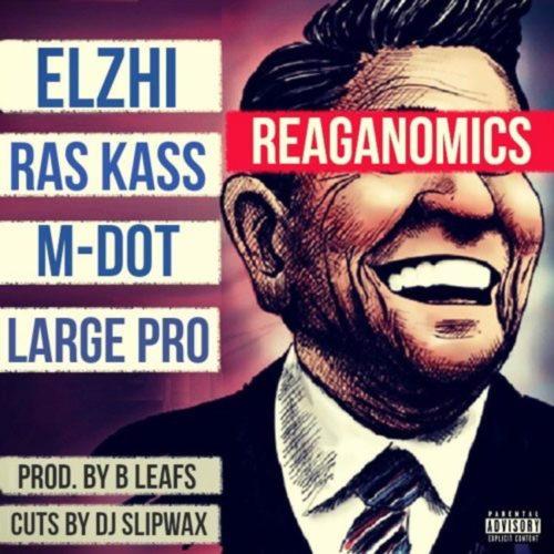 B Leafs feat. Ras Kass, Elzhi, Large Professor & M-DOT — «Reaganomics»