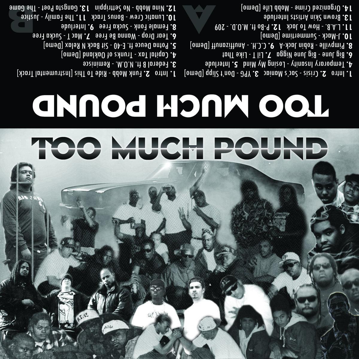 L-Wood & 12ManRambo — «Too Much Pound»