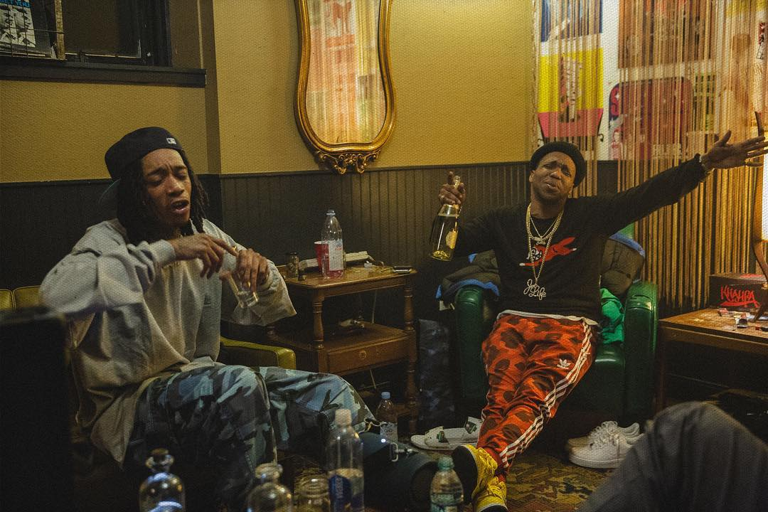 Wiz Khalifa & Curren$y — «The Life»