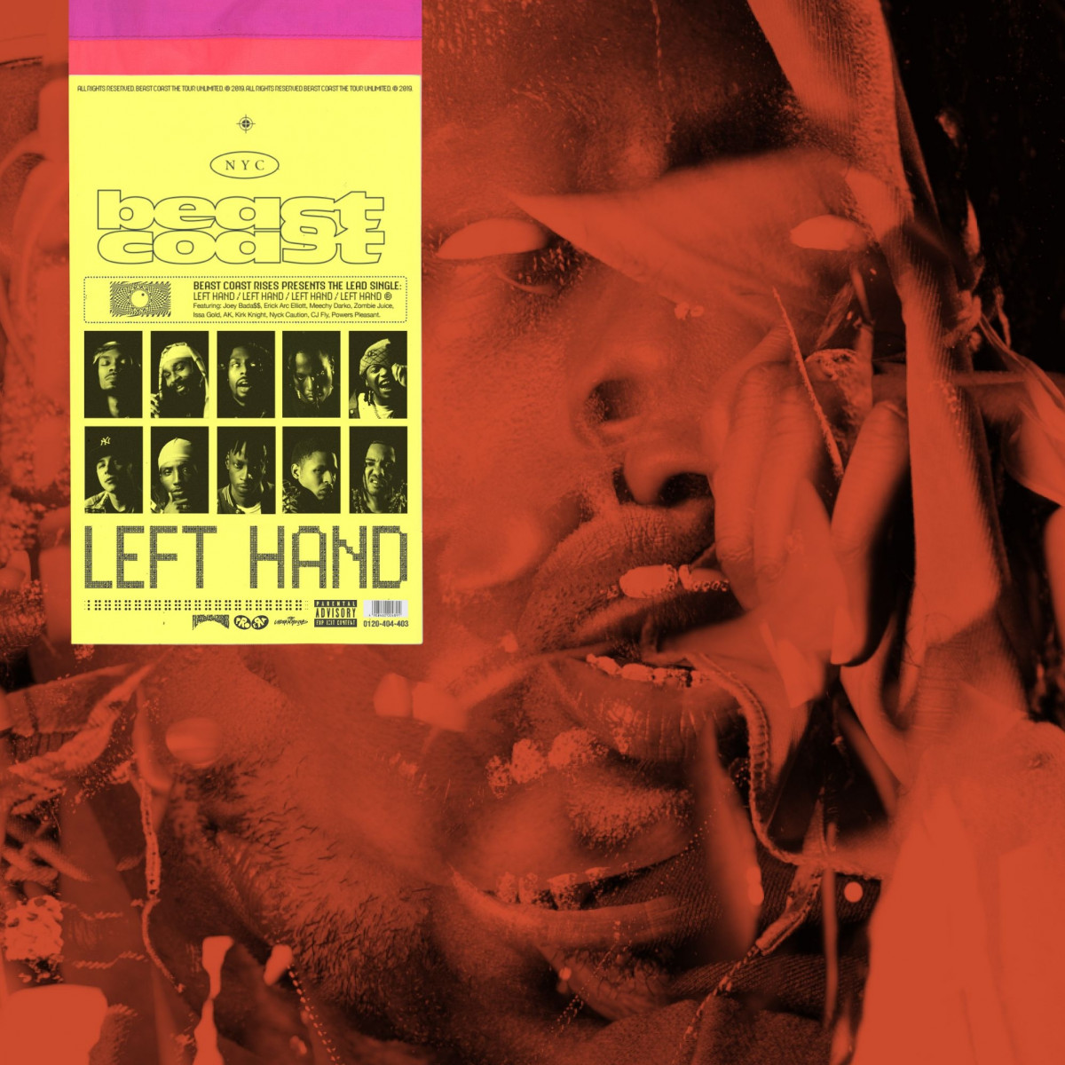 Beast Coast — «Left Hand» (Feat. Joey Bada$$, Flatbush ZOMBiES, The Underachievers, Kirk Knight, Nyck Caution & CJ Fly)