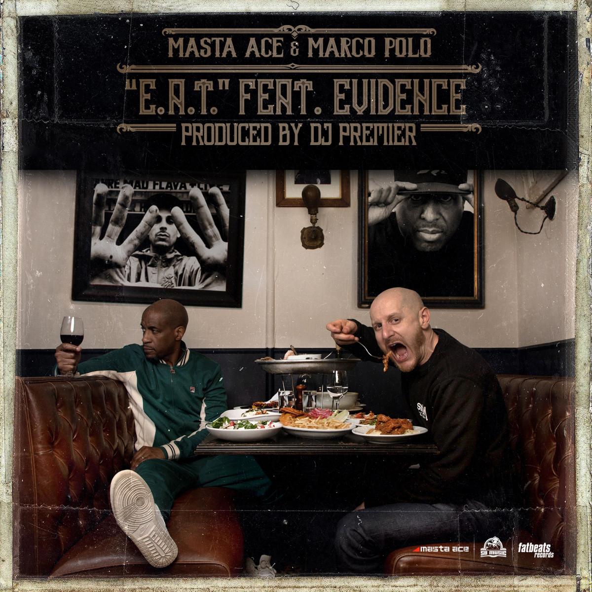 Masta Ace & Marco Polo — «E.A.T.» (feat. Evidence & DJ Premier)
