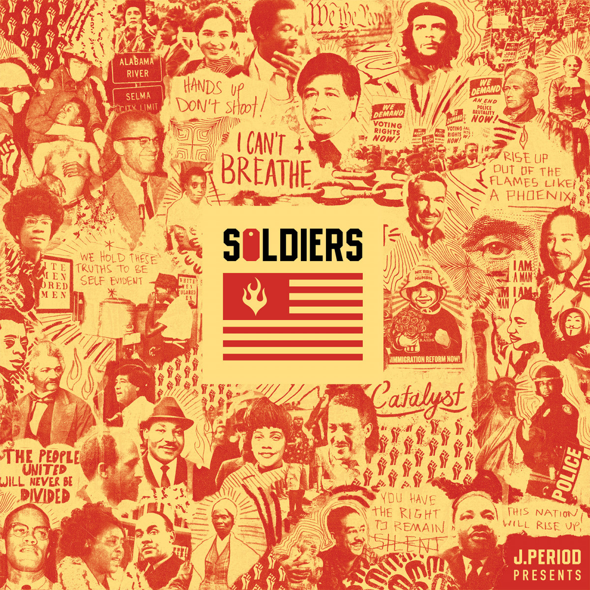 J.Period Ft. Dead Prez, Sa-Roc & Maimouna Youssef «Soldiers»