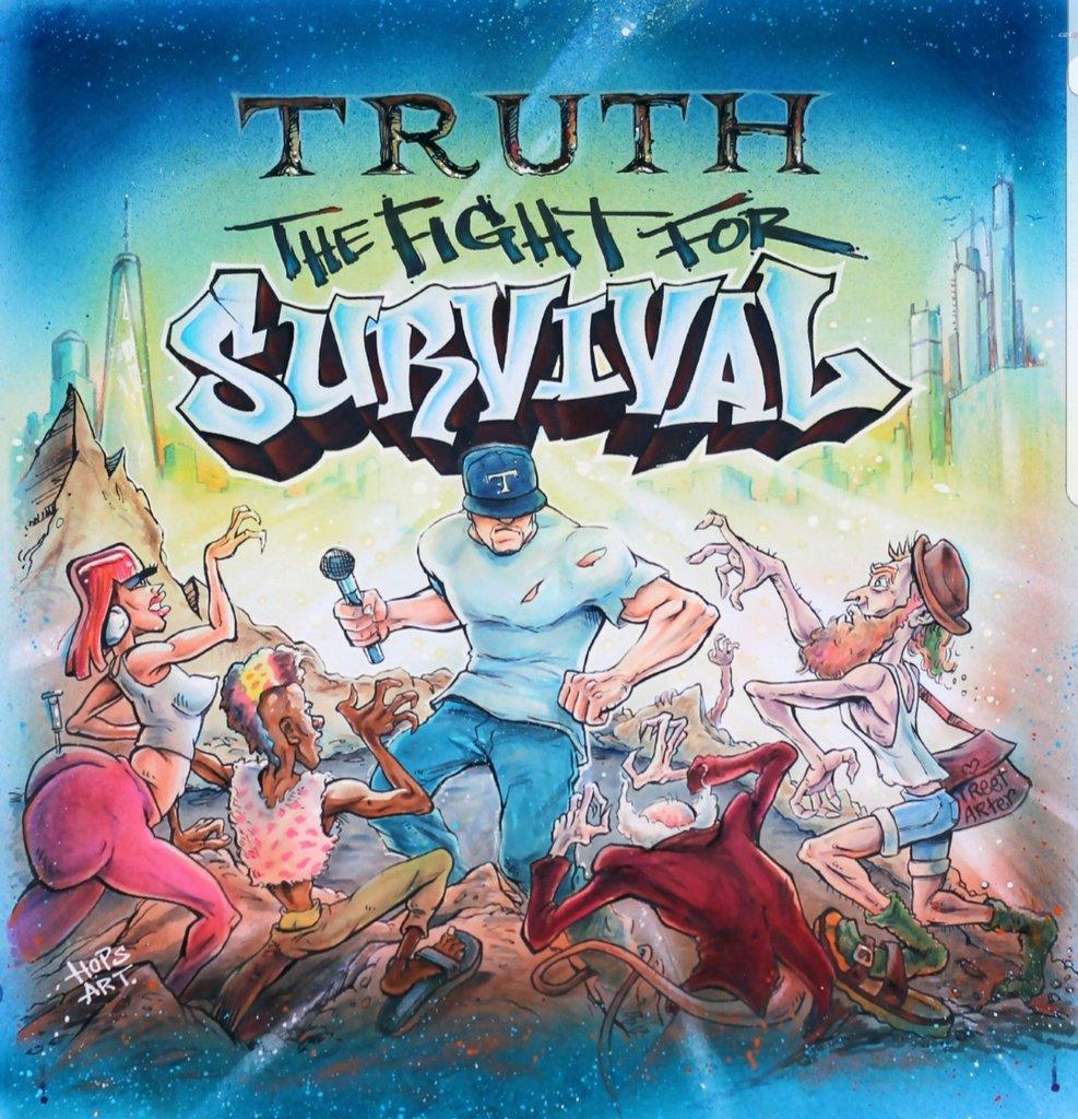 Truth — «Extreme Measures» (ft. Royal Flush & Tragedy Khadafi)