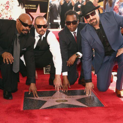 Группа Cypress Hill получила звезду на Голливудской Аллее Славы