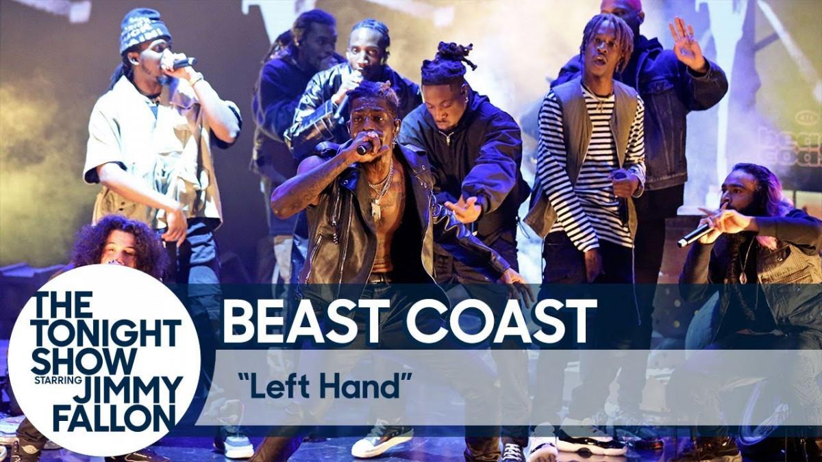 Beast Coast выступили на шоу Джимми Фэллона