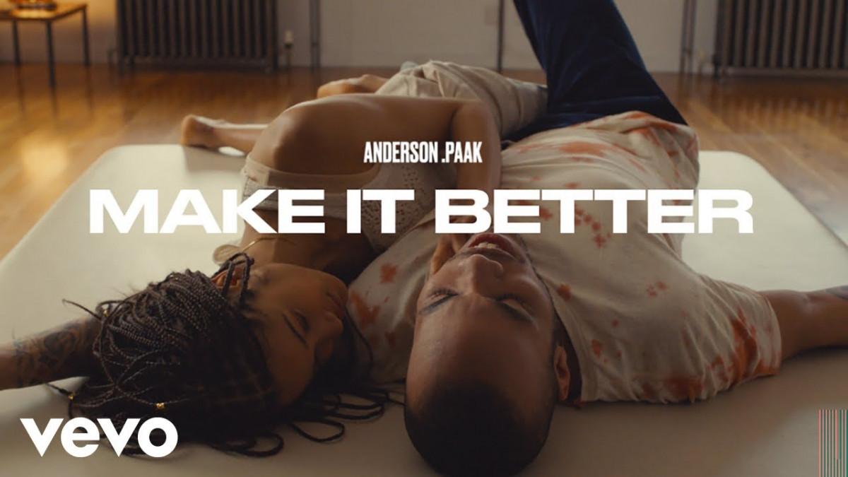 Anderson .Paak — «Make It Better» (Feat. Smokey Robinson)