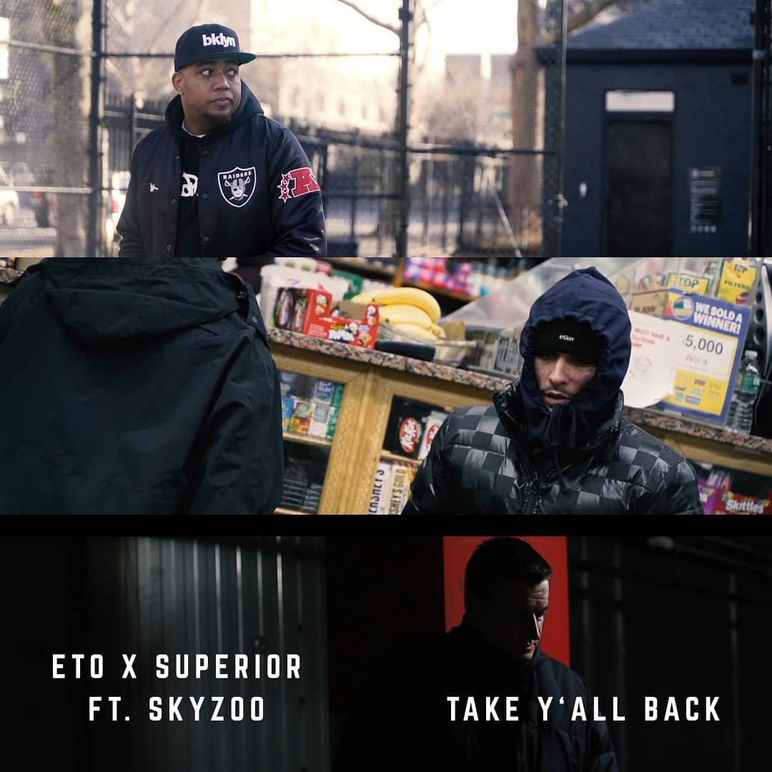 Eto & Superior — «Take Y'all Back» (feat. Skyzoo)