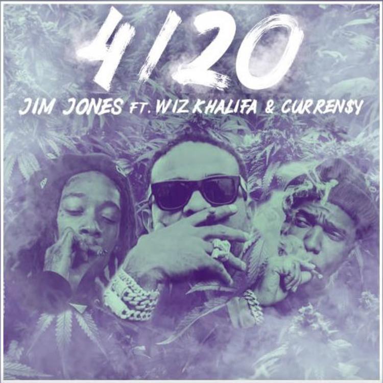 Jim Jones – «4/20» (Feat. Wiz Khalifa & Curren$y)