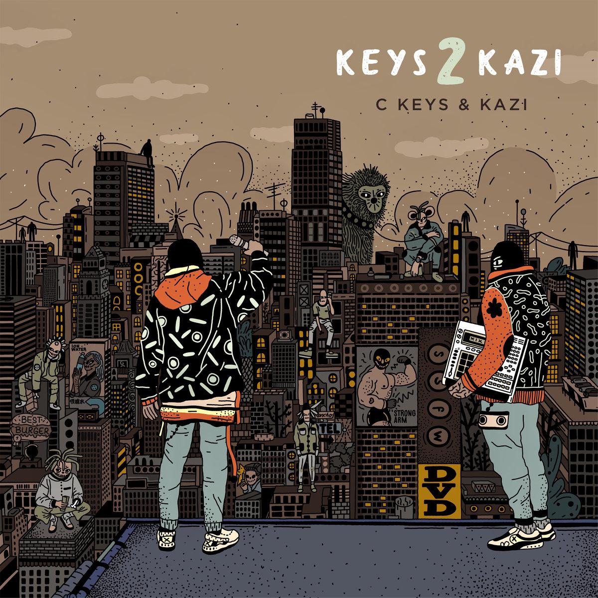 C Keys & Kazi — «Keys 2 Kazi»