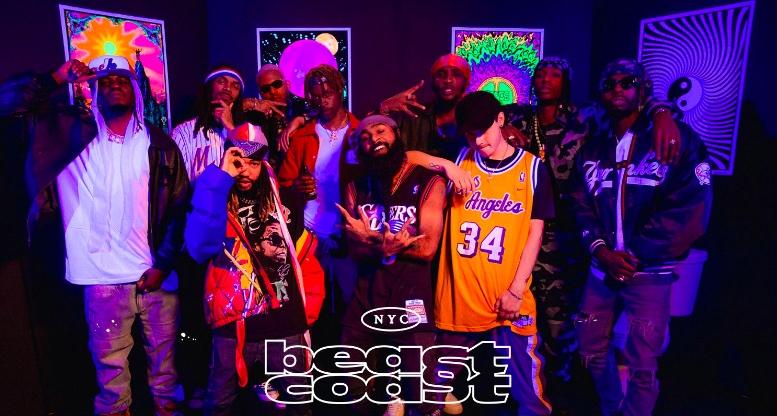 Beast Coast: сайфер на шоу Rap City