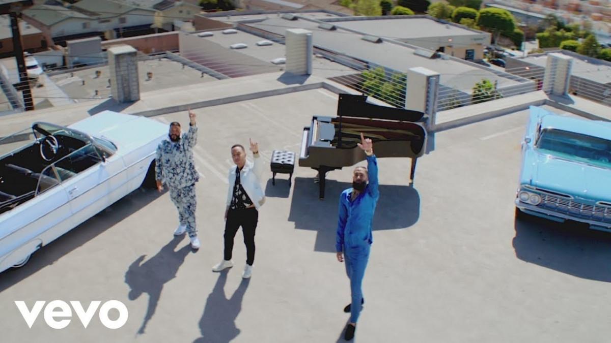 DJ Khaled — «Higher» (feat. Nipsey Hussle & John Legend)
