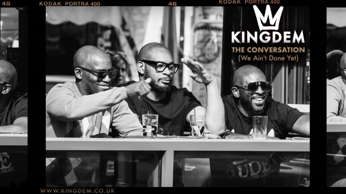 Легендарные МС из Англии Rodney P, Ty и Blak Twang объединились в проект KINGDEM «The Conversation»