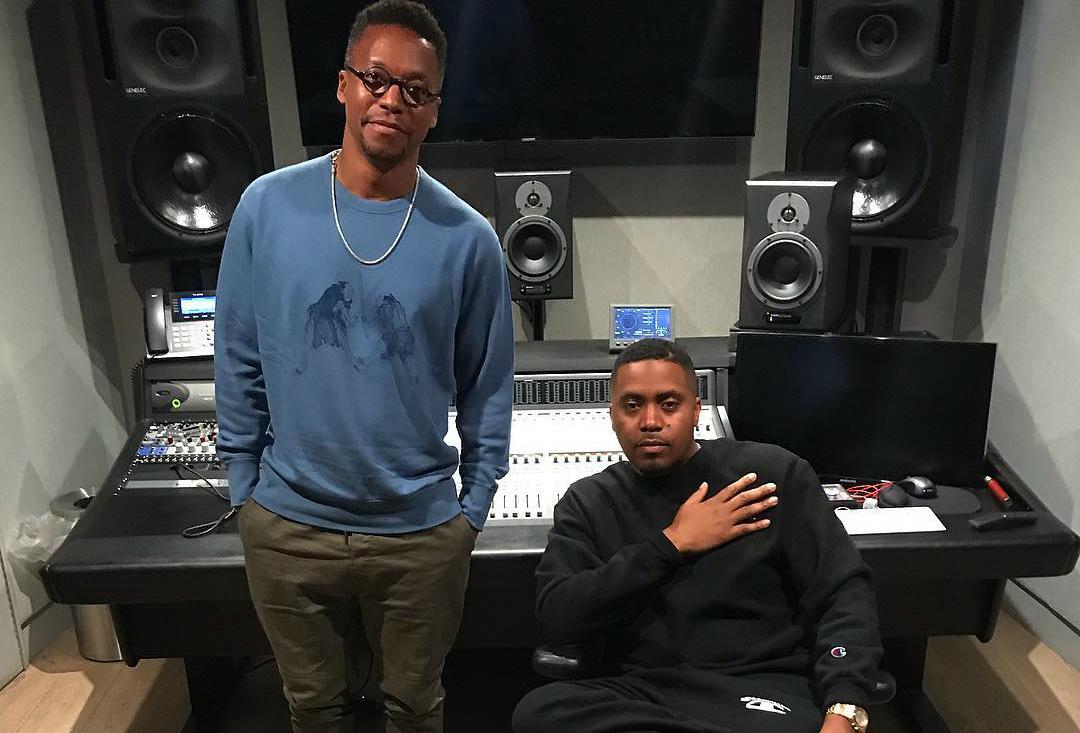 Nas & Lupe Fiasco встретились на студии. Первому совместному треку быть?