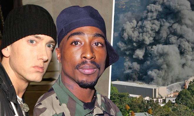 В результате пожара погибли записи 2Pac, Snoop Dogg, Eminem и многих других