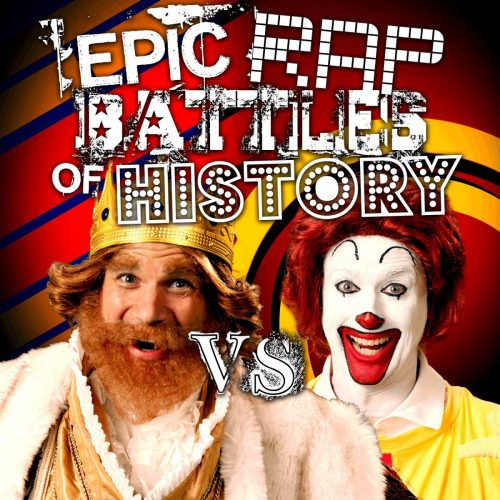 Прикол: Ronald McDonald vs The Burger King провели очередной рэп-баттл