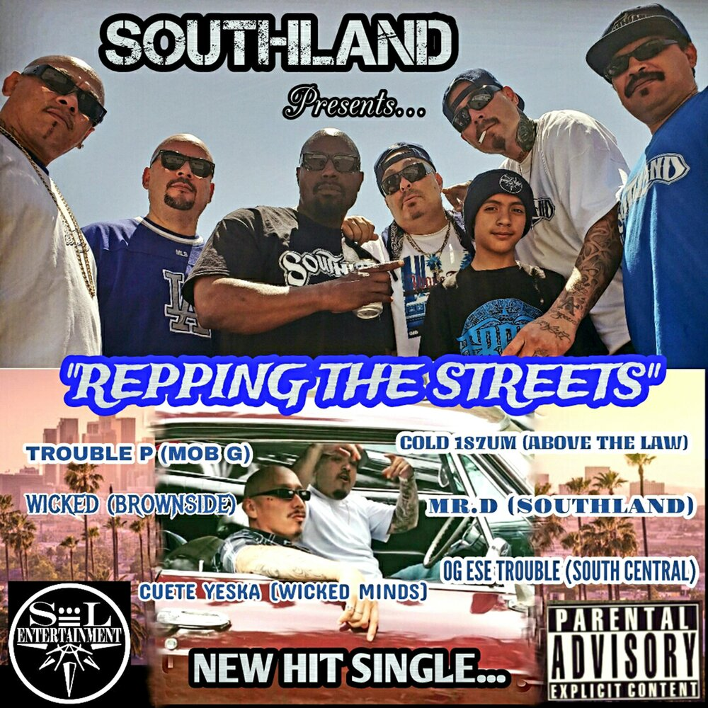 Mister D — «Repping The Streets» (feat. Wicked, Brownside, Cold 187um, Cuete Yeska, Trouble P & OG Ese Trouble)