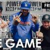 The Game зачитал фристайл под биты из треков 2Pac, Mobb Deep, Royce Da 5'9 и Lil Nas X