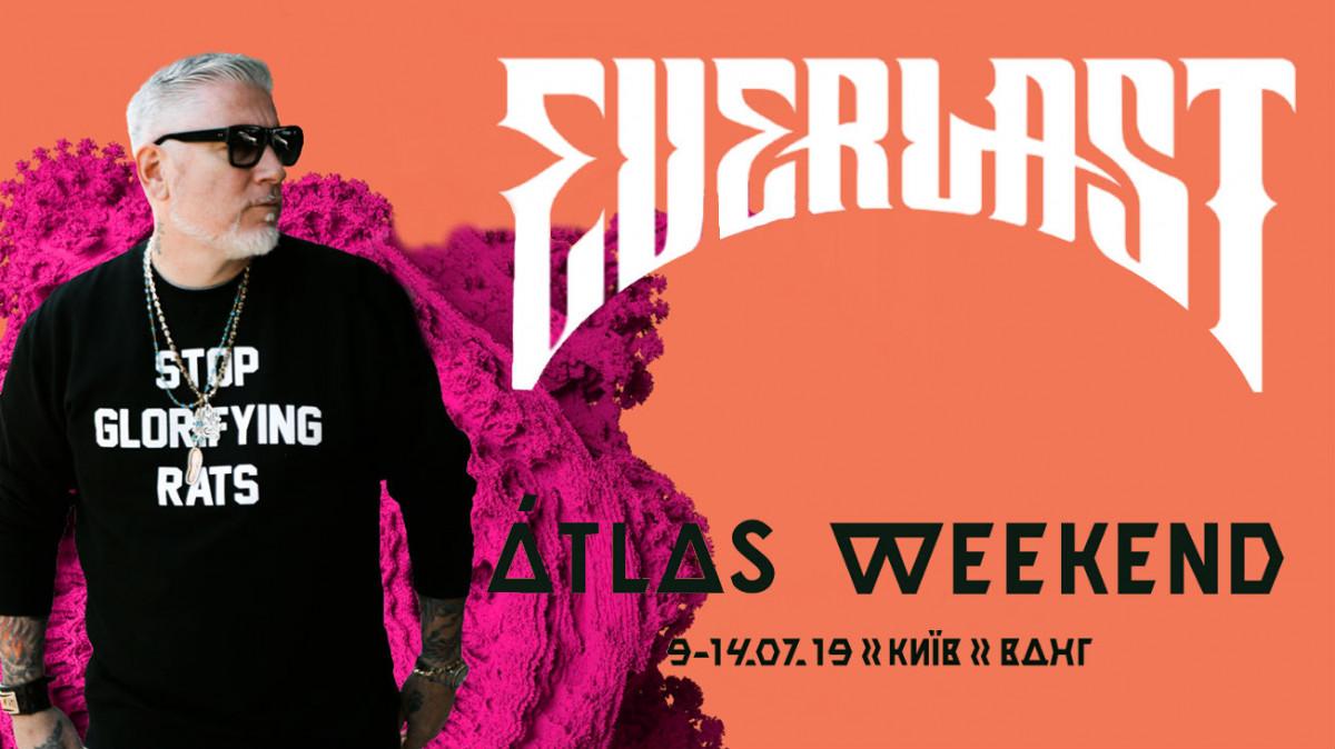 Everlast выступит на фестивале  Atlas Weekend