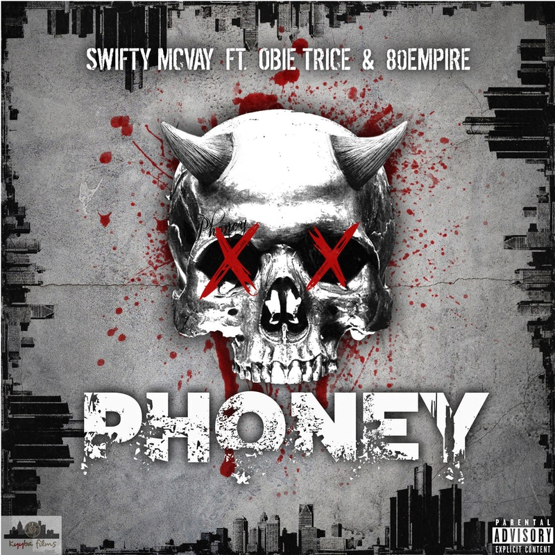 Swifty McVay — «Phoney» (Feat. Obie Trice & 80 Empire)