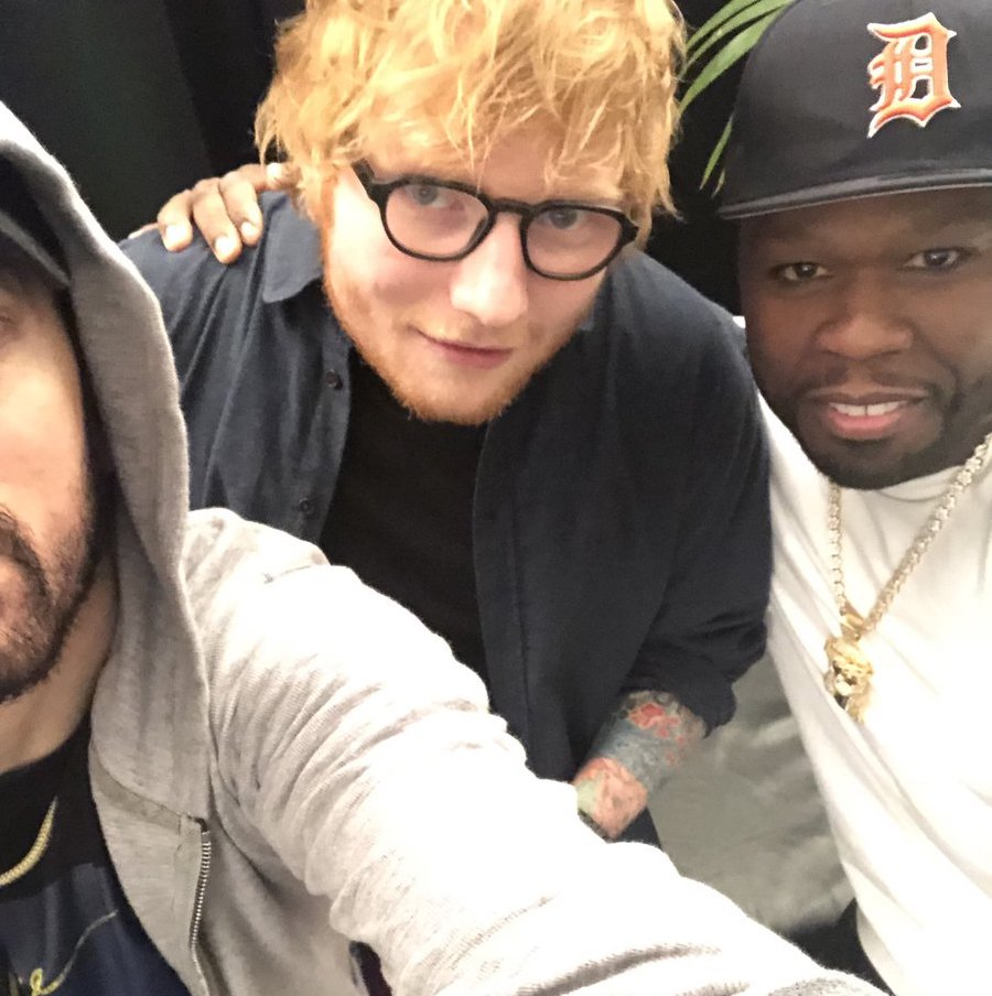 Ed Sheeran — «Remember The Name» (feat. Eminem & 50 Cent)