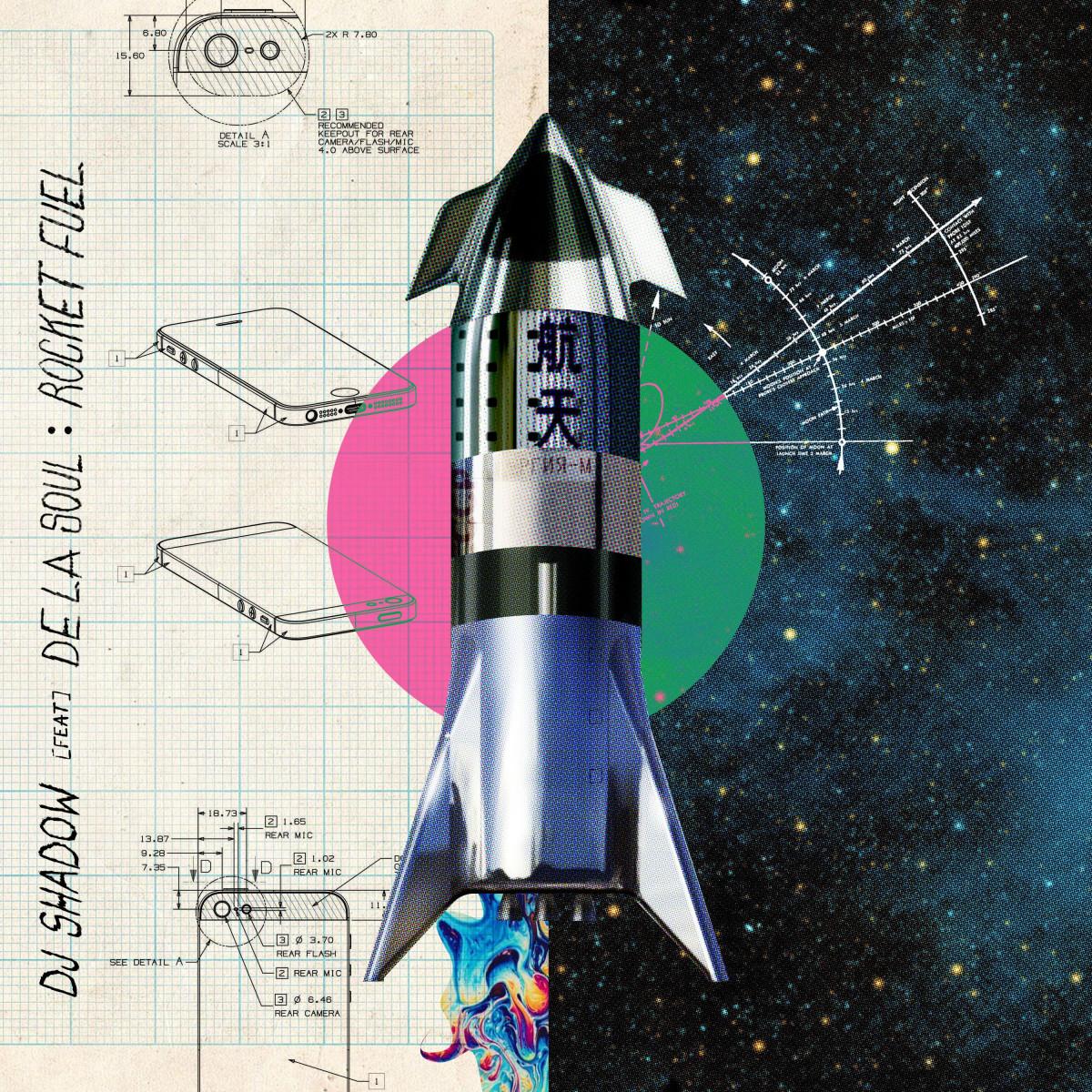 DJ Shadow — «Rocket Fuel» (feat. De La Soul)
