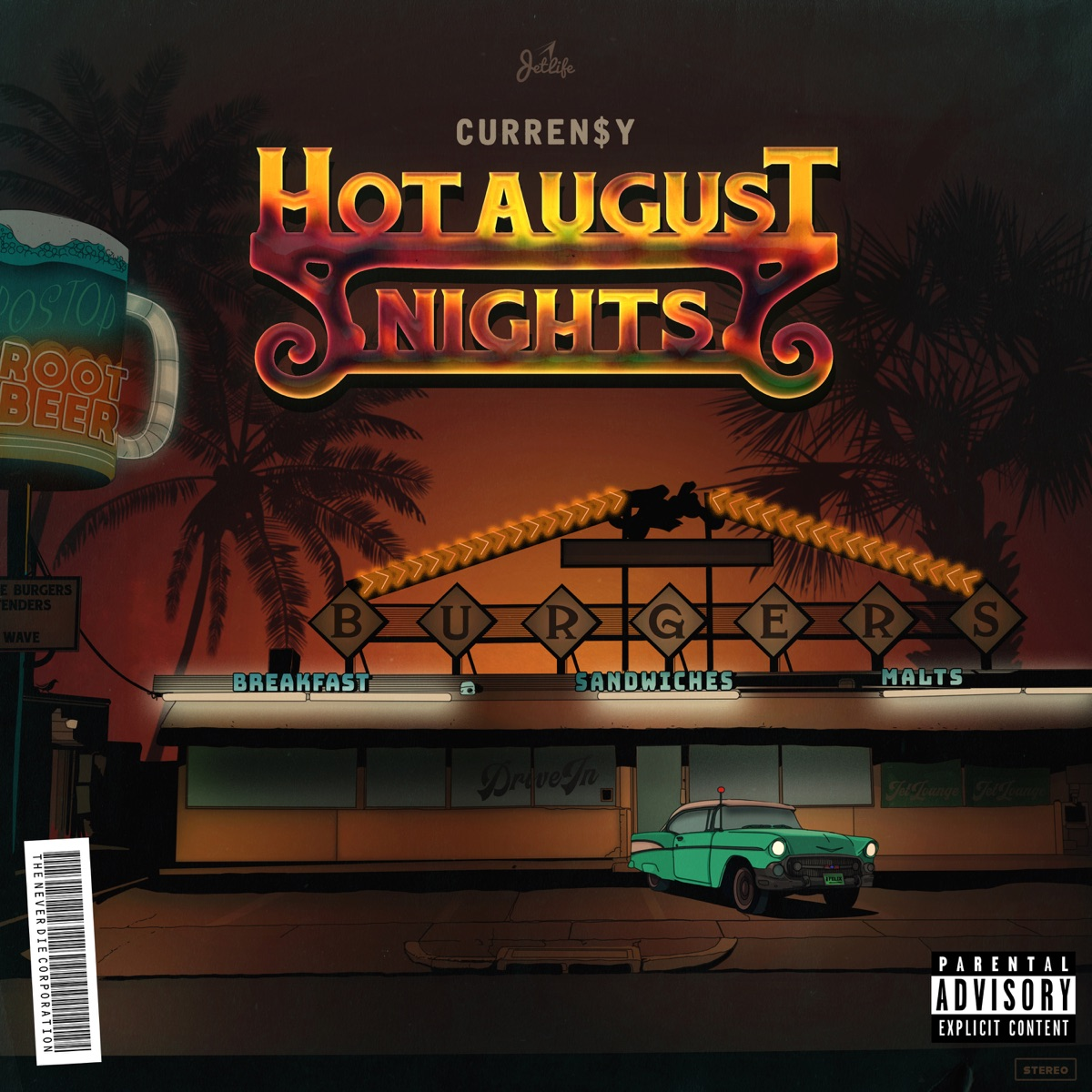 Curren$y — «Hot August Nights»
