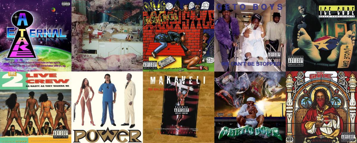 История самых противоречивых  рэп-обложек