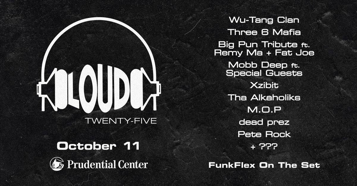 Wu-Tang, Pete Rock, M.O.P., Three 6 Mafia, dead prez, Xzibit и Havoc вновь воссоединятся, для празднования 25-летия Loud Records
