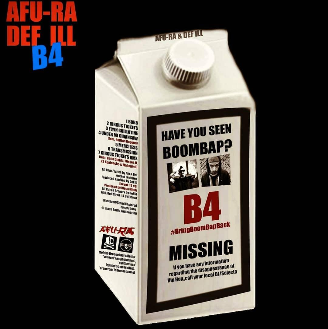Afu-Ra & Def Ill — «B4 — BringBoomBapBack»