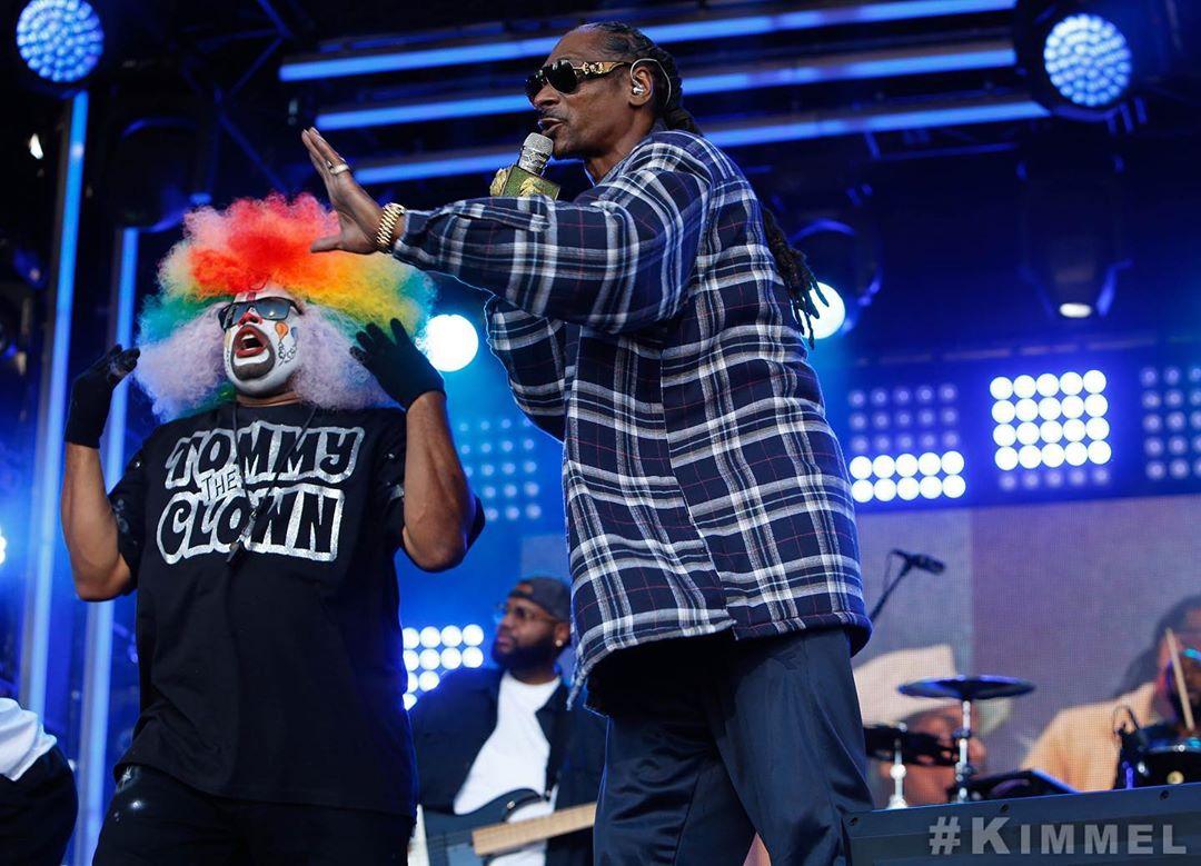 Snoop Dogg и Swizz Beatz выступили на шоу Джимми Киммела