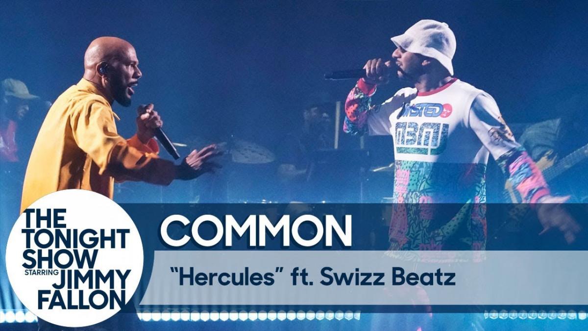 Common и Swizz Beatz выступили на шоу Джимми Фэллона