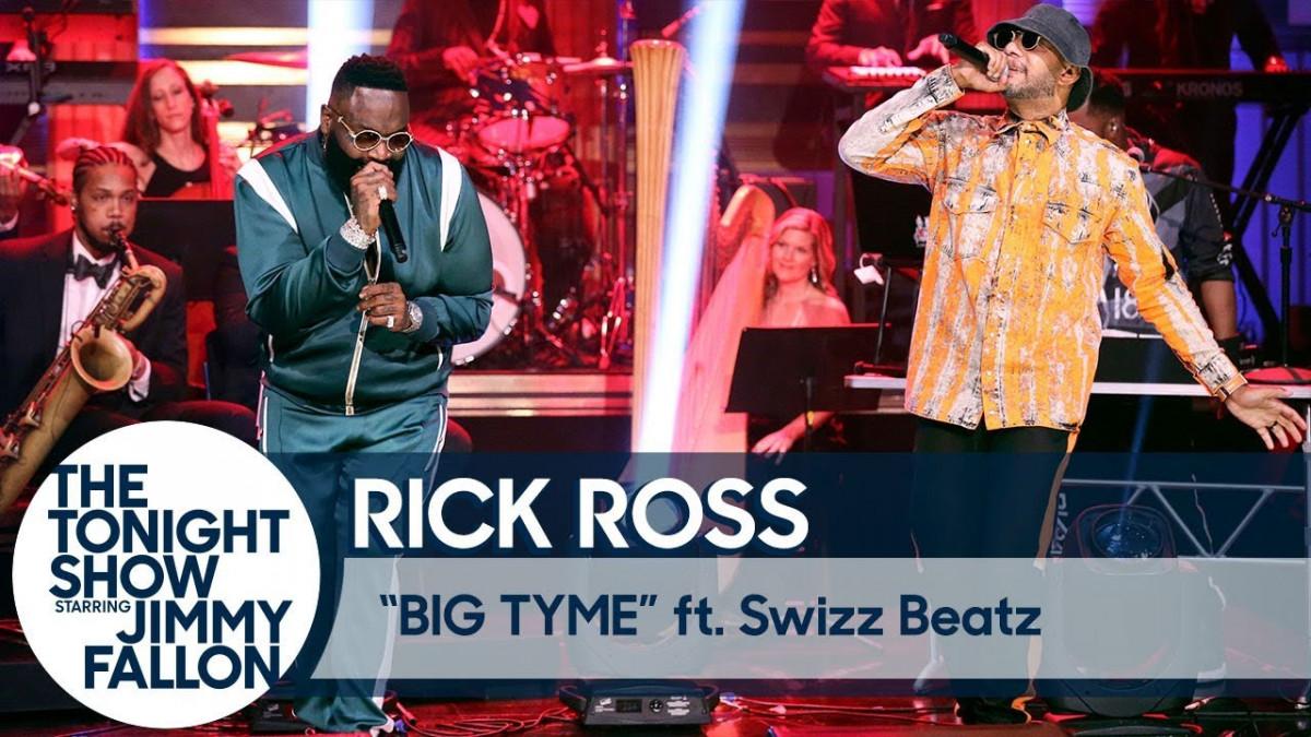 Rick Ross и Swizz Beatz выступили на шоу Джимми Фэллона
