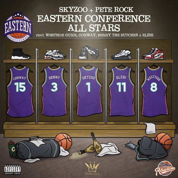 Skyzoo & Pete Rock — «Eastern Conference All-Stars» (feat. Westside Gunn, Conway, Benny The Butcher & Elzhi)
