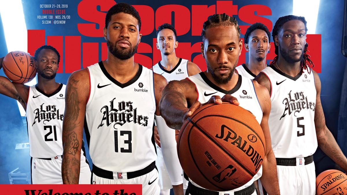 Mr.Cartoon сделал новый дизайн формы для команды Los Angeles Clippers