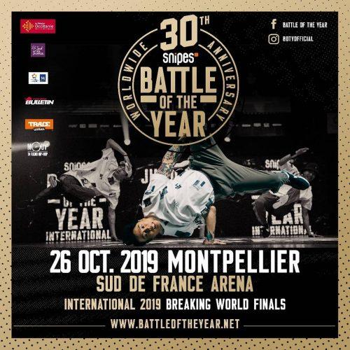 Во Франции прошел финал Battle of the Year 2019