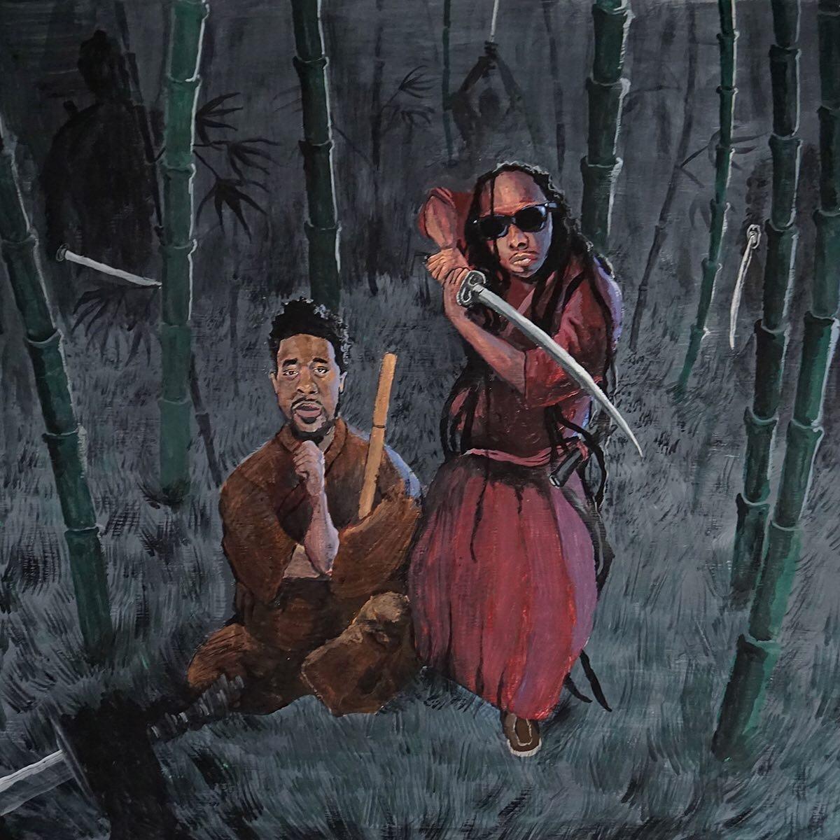 Eloh Kush & John Robinson — «Ebony Ronin»