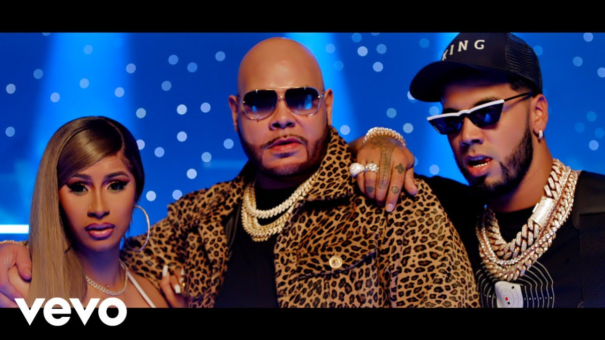 Fat Joe, Cardi B & Anuel AA — «YES»