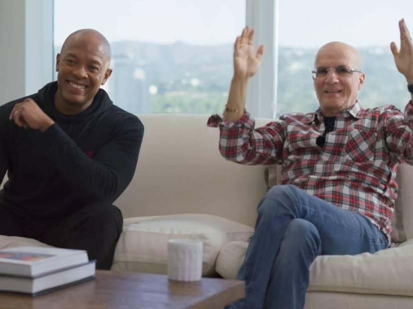 Apple Music сняли интервью-документалку о записи альбома Dr.Dre «2001»