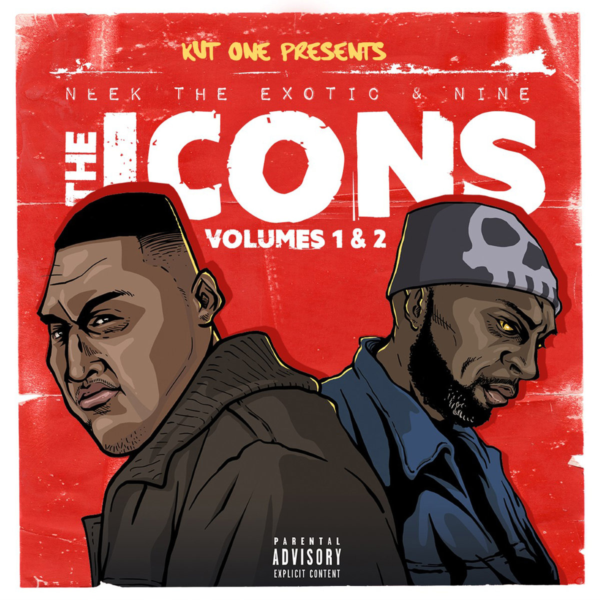 Kut One, Neek the Exotic & Nine — «The Icons, Vol. 1 & 2»