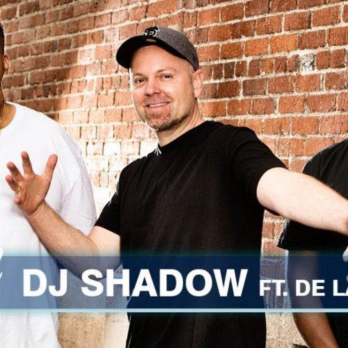 DJ Shadow и De La Soul выступили на шоу Джимми Киммела