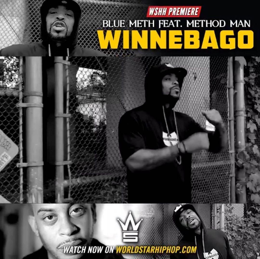 Blue Meth — «Winnebago» (Feat. Method Man)