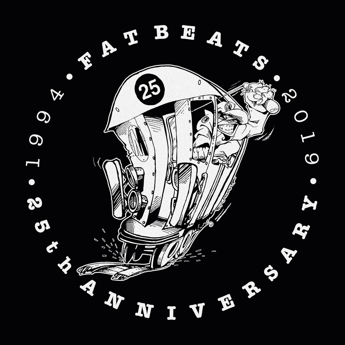 Fat Beats — «25th Anniversary Compilation»