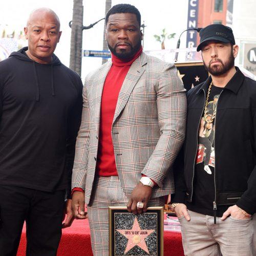 50 Cent получил именную звезду на Голливудской Аллее Славы