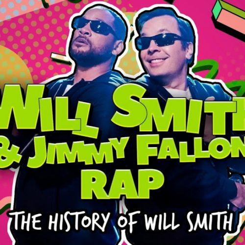 Will Smith пересказал собственную биографию в формате рэп-трека на шоу Джимми Фэллона
