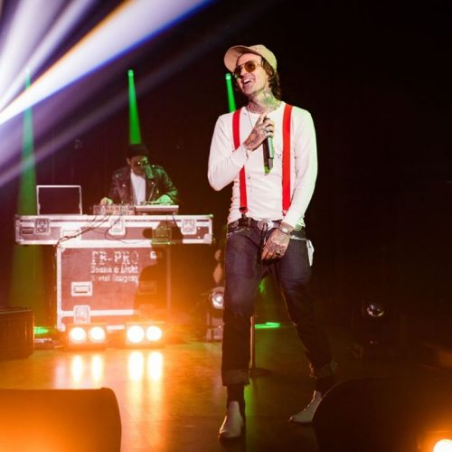 Yelawolf выступил на шоу «Вечерний Ургант»